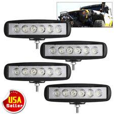 """4pcs 6INCH 72W LED WORK LIGHT BAR Spot OFFROAD ATV FOG TRUCK LAMP 4WD 12V 6"""""""