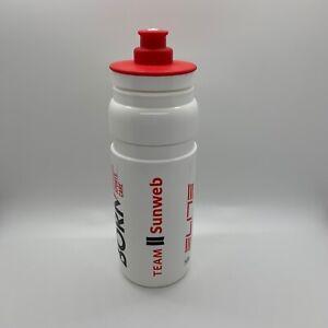 New Elite FLY Team Sunweb Cycling Water Bottle 750 ML