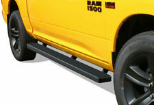 "Aries AL235041 Black 4/"" Big Step Round Side Bars for Ram 1500//2500//3500 Crew Cab"