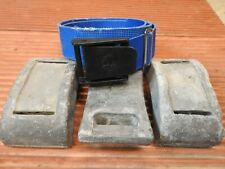 Scuba Diving Weights30 lbs.(3 Lace-Thru Blocks, 10# each) & Trident Belt, Used