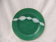 Retro Noritake Cake Entree Plate Only!! Funky Green & White Swirls ~ Japan 1951