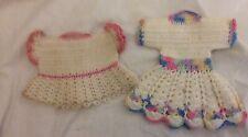 Pair Handcrocheted Dress Potholders