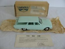 Vintage Hubley 1961 Ford Country Squire Station Wagon Dealer Promo w/ Box EX
