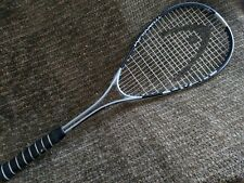 Head silver and black titanium Ti Marauder 1000 squash racket