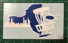"6"" New York Disc Golf Vinyl Decal"