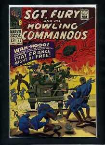 Sgt. Fury #40 VF 1967 Marvel Comic Book