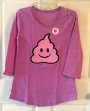 Girs 20, Cute Justice Flip Sequin Purple Top, New!