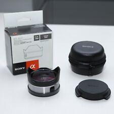 Sony E Mount Fisheye Converter VCL-ECF1 Interchangeable Lens Digital Camera