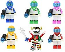 Voltron A Team Set Of 6 Hunk,Keith,.Pidge,Etc. Minifigure Figure Usa