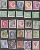 25 All Different LUXEMBOURG Stamps