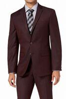 Van Heusen Mens Suit Separates Purple Size 42 Long Notch Lapel Blazer $150- 014
