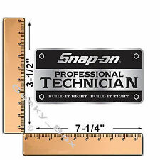 Snap ON Tools Técnico Profesional Caja de herramientas Decal Sticker