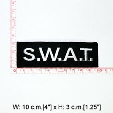 SWAT Police Firearms Gun Weapon Pistol Army Bag Jacket Shirt backpack Iron Patch