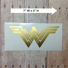 NEW Wonder Woman Logo Vinyl Car Decal Sticker   Laptop Phone Tumbler Window