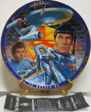 Star Trek The Tholian Web Classic TV Episode Ltd Ceramic Plate Hamilton 1996 COA