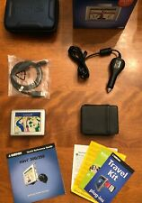 Garmin Nuvi 350 GPS w/Car Charger Case USB Bundle in Box Tested Working EUC $400