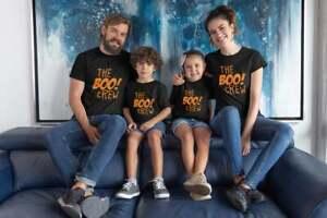 The Boo! Crew Parent Child Matching Halloween T-shirt Mum Dad Kids Party Friend