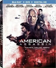 AMERICAN ASSASSIN Blu-ray/DVD + Digital HD NEW + FREE SHIPPING! #Action #Revenge