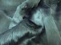 Super Luxury Faux Fur Fabric Material ASTRAKHAN PERSIA PURPLE