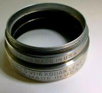 KODAK series 6 VI-A lens hood shade metal screw in 44.5mm retaining ring Adapter