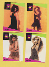 Lot of 4 Tina Turner trading cards Published early 1990s