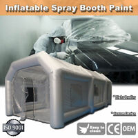20x10x8Ft Inflatable Giant Car Workstation Spray Paint Tent Paint Booth Custom