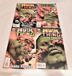 Hulk and Thing Hard Knock #1-4 (2004) Complete Limited Series High Grade VF / NM