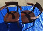 Antique THONET  austria  1910 bentwood armchair set of 2  pick up Erie, Pa