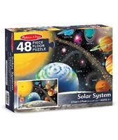 Melissa & Doug 2x3ft Solar System Floor Puzzle -Big Easy 2 Handle Pieces NIB🆓📬