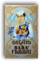 Quadro specchio pubblicità amarena fabbri gelato babà advertising 1970 vintage