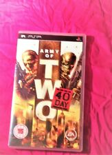 Army of Two: The 40th Day - Sony PSP– game case and game`s manual only