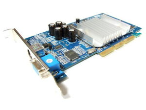 XFX Nvidia GeForce4 MX440SE 64MB Sdr Tv-Out VGA AGP Graphics Card PV-T17L-DTHB