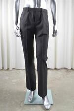 BALENCIAGA Mens Classic Black Wool Flat-Front Trouser Pant FR 48 - US 32 NEW