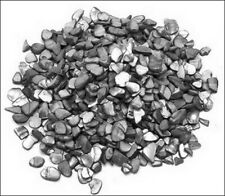 Grey/Black Large Crushed Shell Chip Embellishments (350)