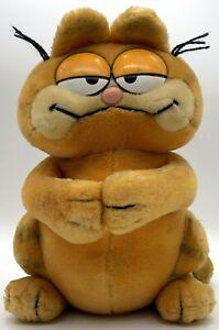 Garfield sitzend - ca. 29cm - Stofftier - Plüsch - Vintage - Kult