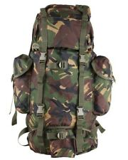 BRITISH ARMY STYLE CADET BACKPACK RUCKSACK DPM WOODLAND CAMO 60 LITRE