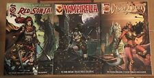 Red Sonja Dejah Thoris Vampirella #1 In Your Dreams Collectibles Exclusive Rare