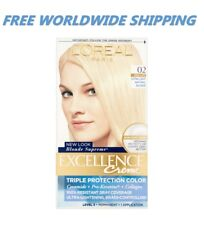 L'Oreal Excellence Creme Hair Color 02 Extra Light Natural Blonde SHIP