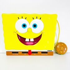 Spongebob Squarepants Vtech Laptop Talking Learning Toy Nickelodeon Electronic