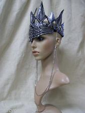 Gothic Ravenna Crown Headpiece Wicked Evil Queen Snow White Huntsman Apocalyptic