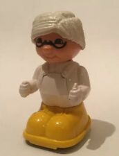 Vintage 1978 Matchbox Shuffle Farm Granny Figure Toy