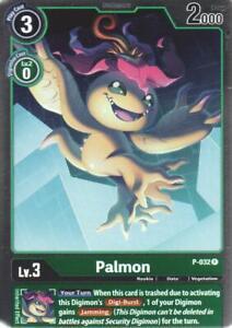 1x Palmon - P-032 - FOIL PROMO Digimon Digimon Promos NM Foil