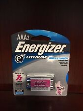 24 x Energizer AAA Lithium Batteries, Lasts Up To 7x Longer! Fresh