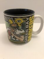 Vintage 1992 NFL Green Bay Packers Mug Sports Impressions Favre Rodgers Coffee