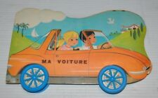MA VOITURE French Children Book 1969 Hemma