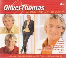OLIVER THOMAS : MUSIK IST MEINE WELT / 3 CD-SET - TOP-ZUSTAND