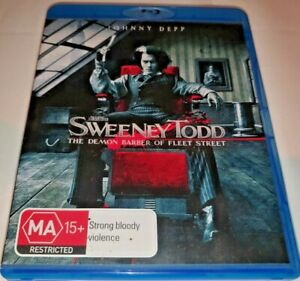 Sweeney Todd The Demon Barber Of Fleet Street Blu-ray