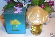 "Avon Fluttering Fancy mushroom decanter with  ""Sweet Honesty""  cologne 1 FL.OZ."