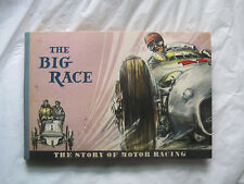 Vintage 1955~The Big Race The Story of Motor Racing by Rosemann Demand~HC~LBDEW