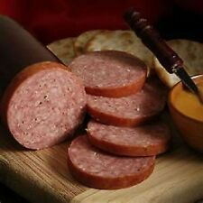 12 OZ.COLORADO ELK SUMMER SAUSAGE~BEEF & SMOKE FLAVOR!!!!